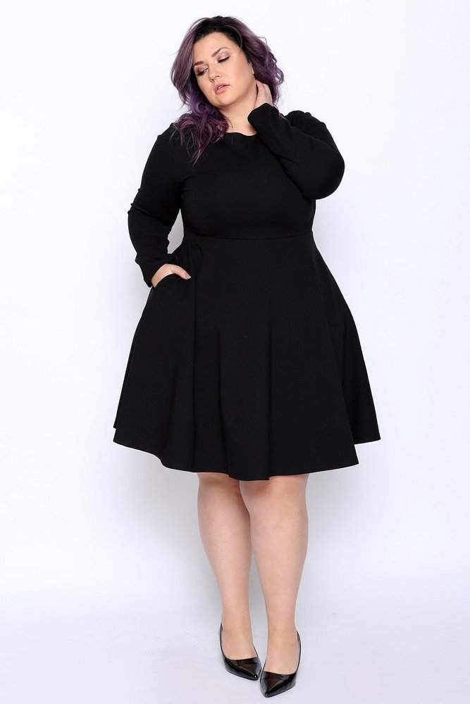 022c04a632414 How many plus size little black dresses do you own? We are having a little