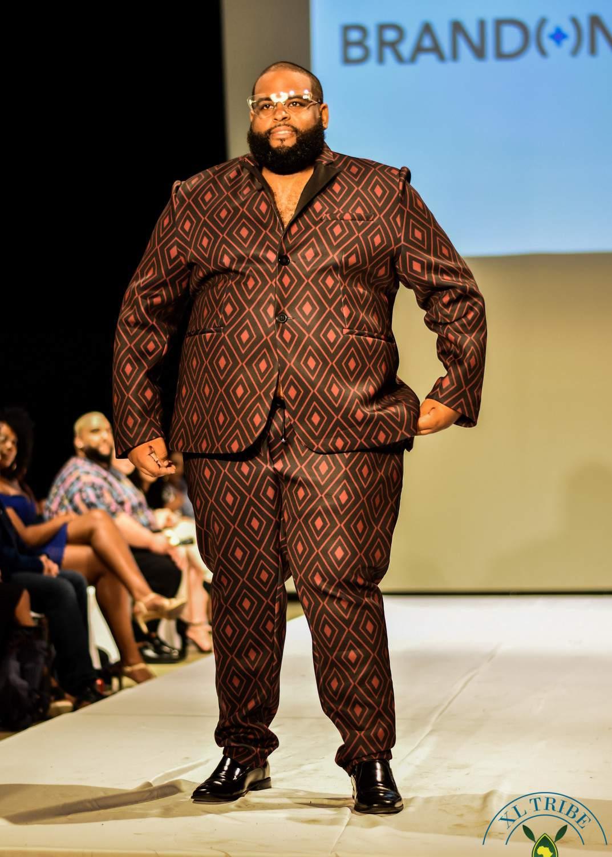 Around FFFWeek: Big & Tall Fashion Shows Out With Bae Walks