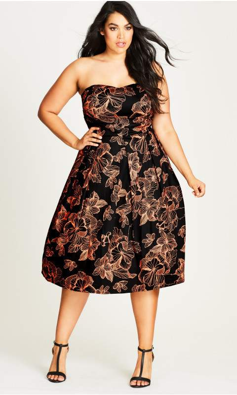 Searching For The Perfect Plus Size Cocktail Dress