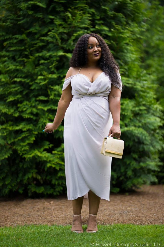 Marie Denee in City Chic Plus SIze Cocktail dress (1)