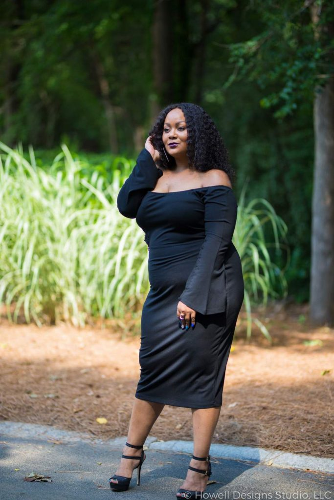 15cb9e2b92b Because you Need a Plus Size Little Black Dress for Summer