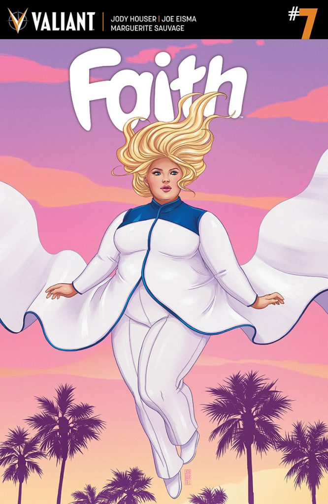 plus size superhero for Faith