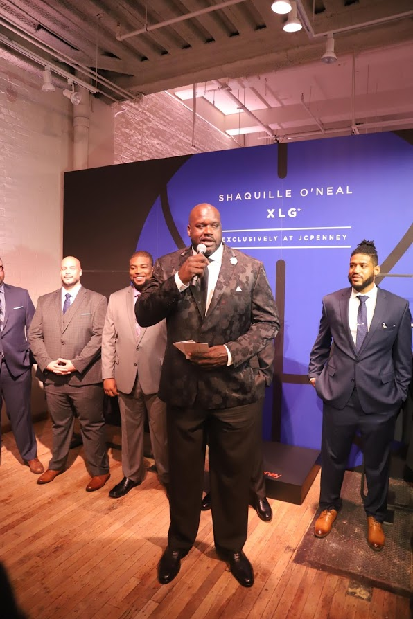 Inside the Launch of Shaquille O'Neal XLG x JCPenney Collection