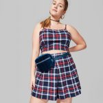 Wild Fable in Plus Sizes at Target- Plus Size Plaid Mini Skort