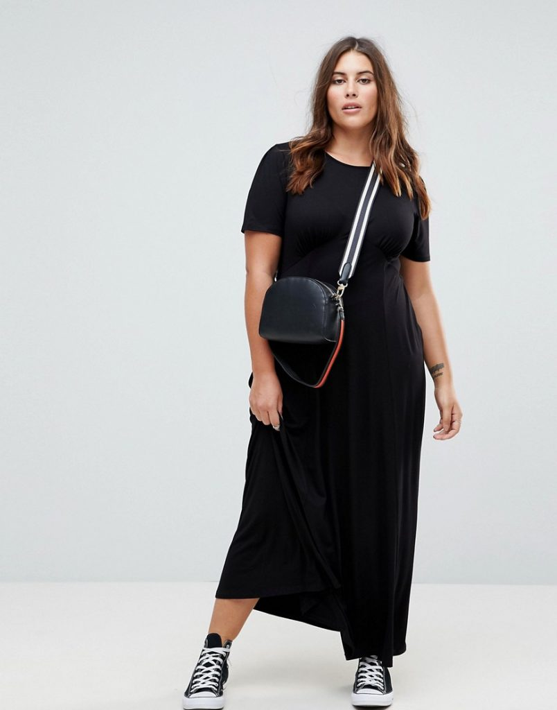 ASOS DESIGN Curve ultimate maxi tea dress