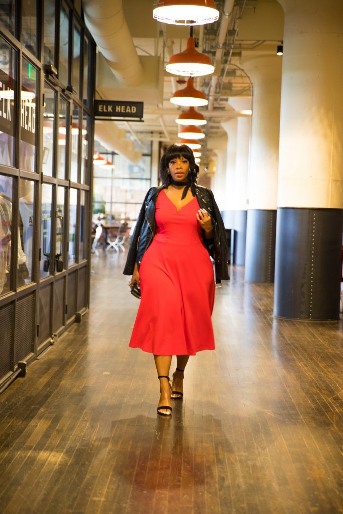 Show Me, Style Me: One Plus Size Red Dress- 3 Looks!  Date Night