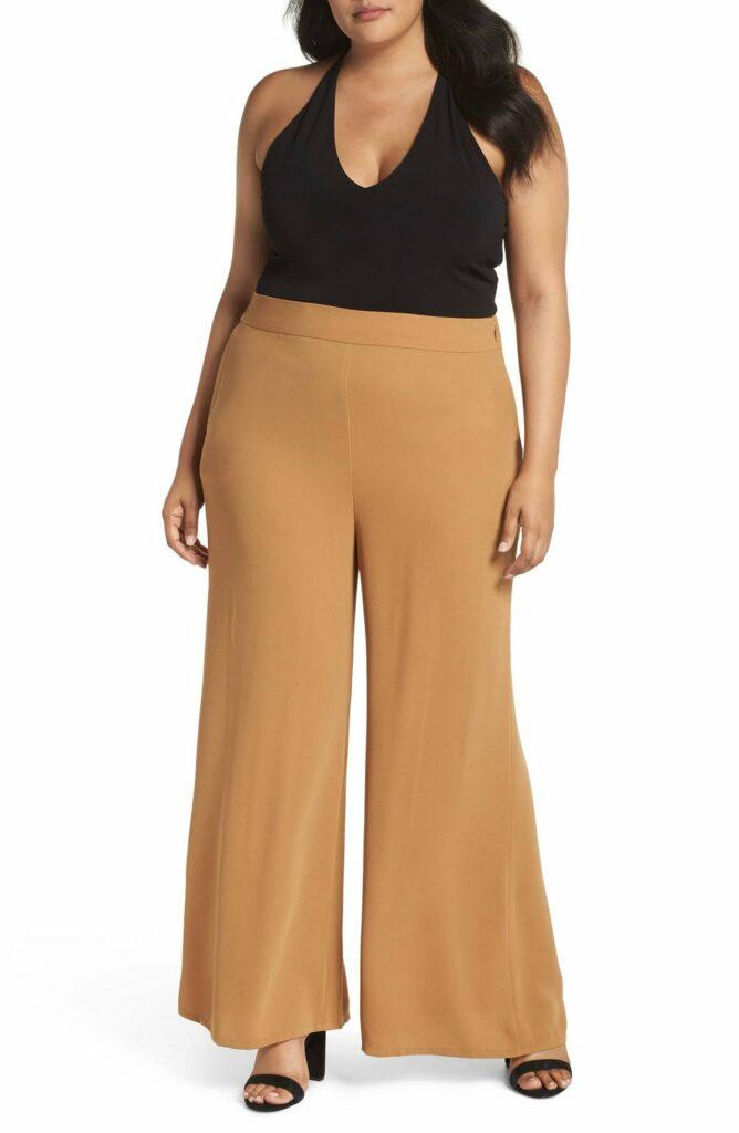 Leith Plus Size Wide Leg Pants