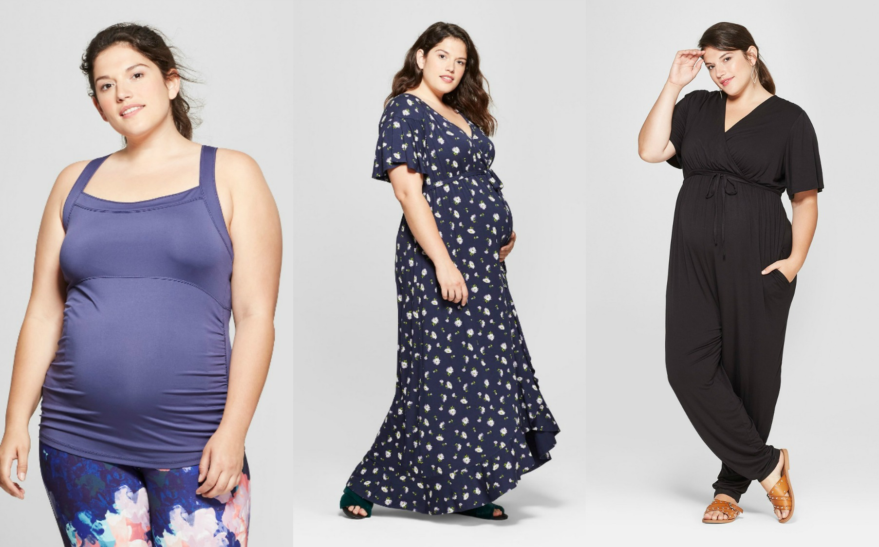 57427e3641e Fashion and Industry news. Cute Plus Size Maternity at Target  YES! Thanks  to Isabel Maternity by Ingrid   Isabel