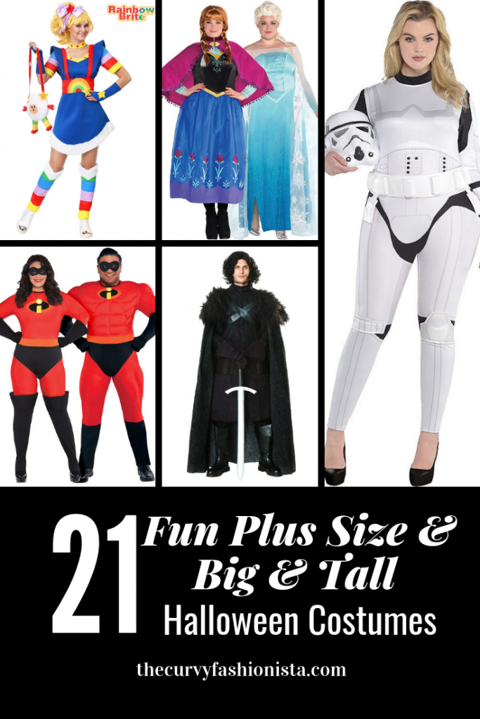 2018 fun plus size halloween costumes