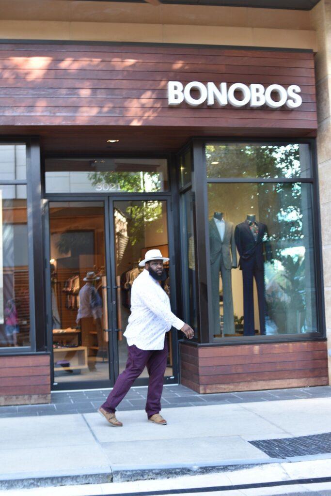 Bonobos Size Chart
