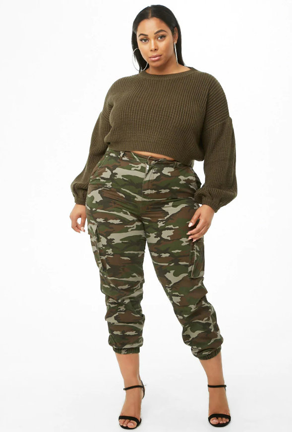 Cute Plus Size Sweaters for Fall- Plus Size Cropped Turtleneck Sweater