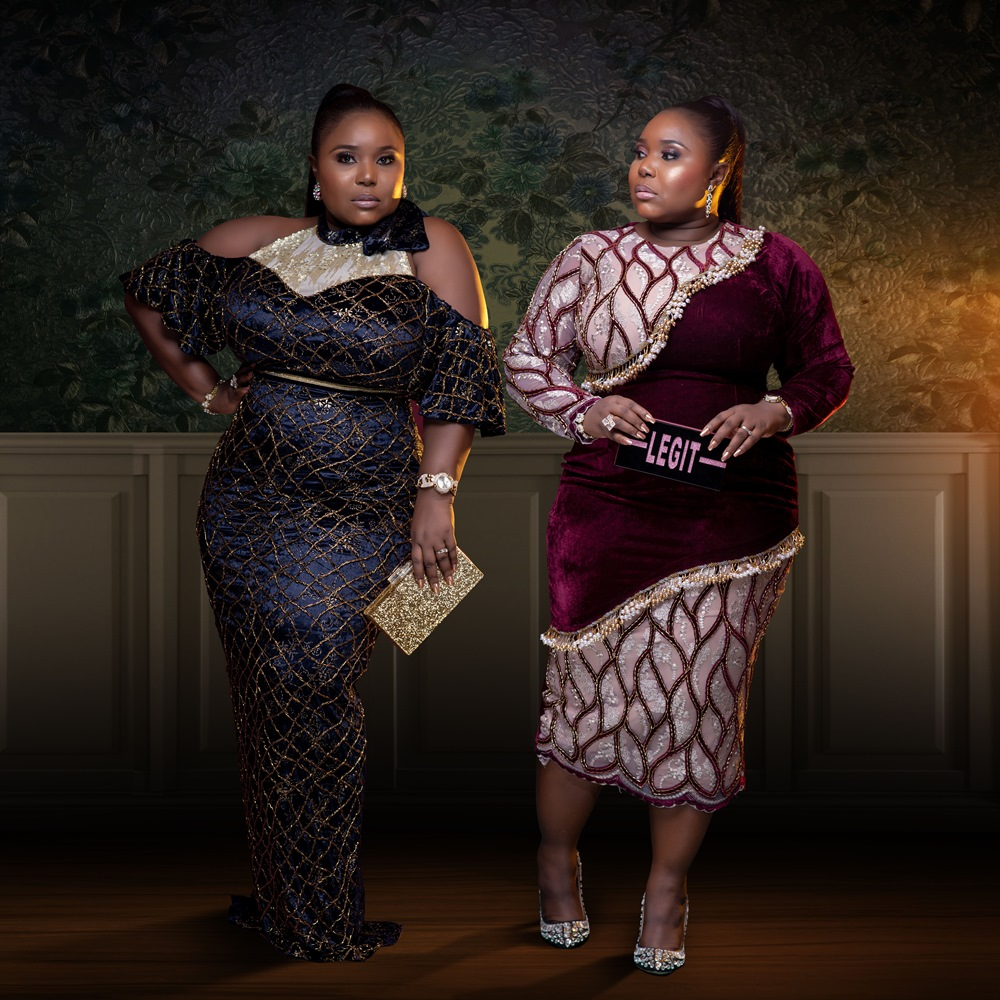 Plus size designer- Makioba Fall 2019 Collection