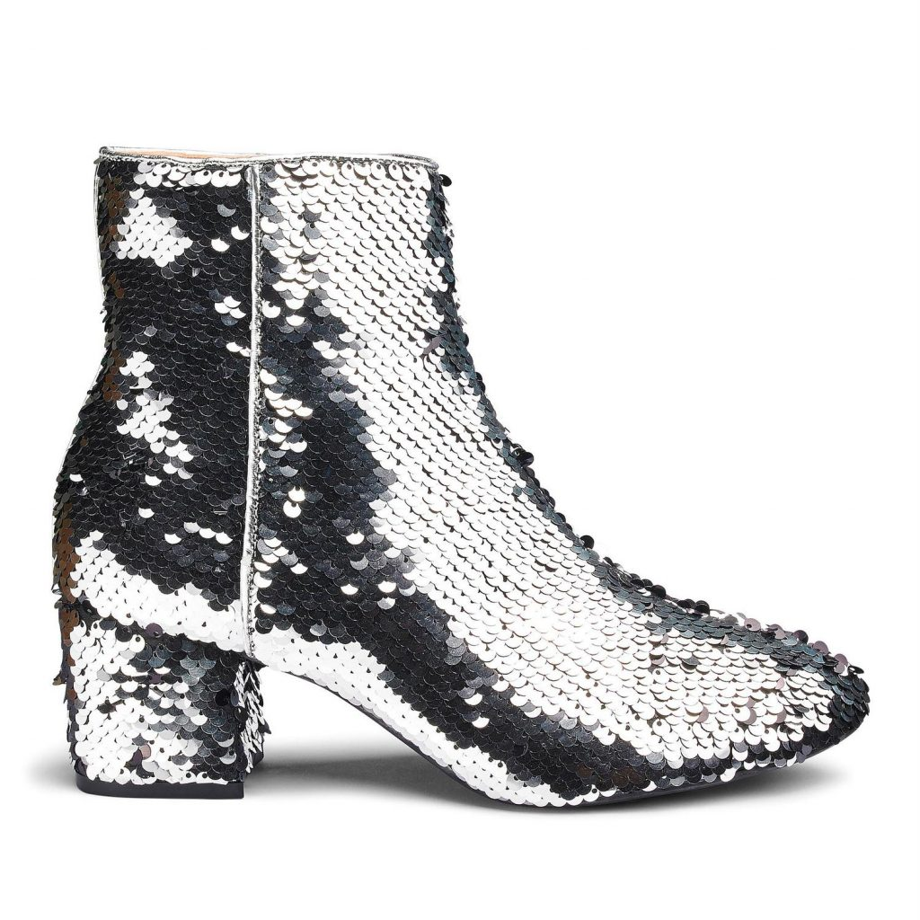 13 Must Rock Wide Width booties for the Fall- Venus Two Way Sequin Wide Width Bootie