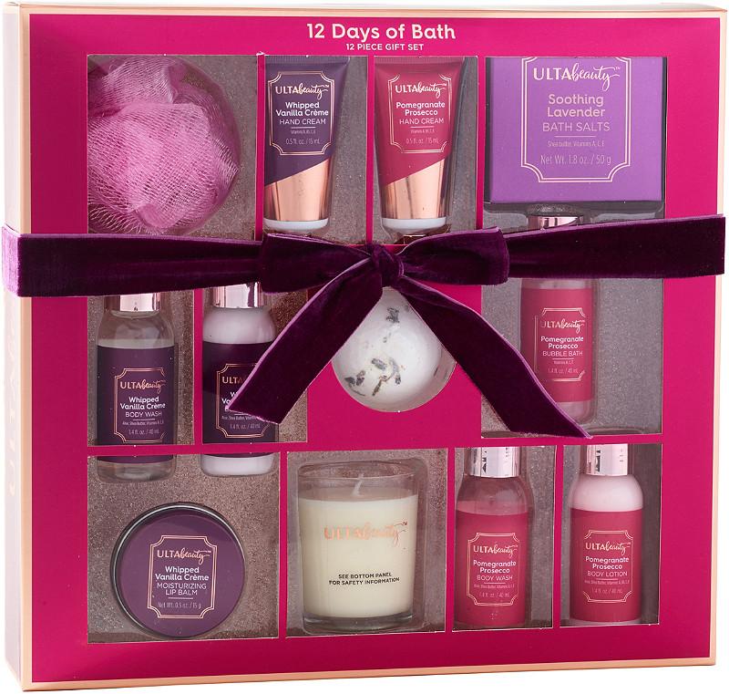 12 Days of Bath 12 Piece Bath Gift Set