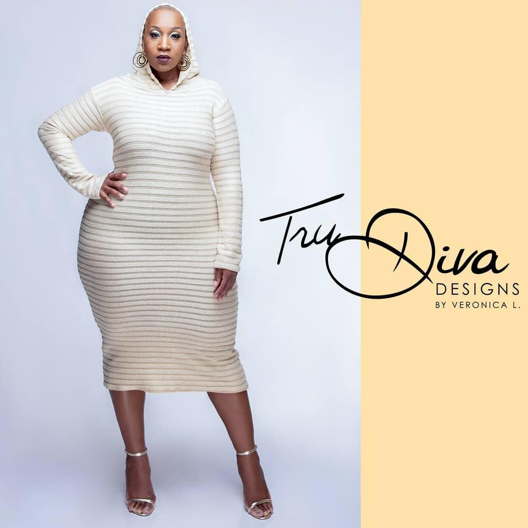 Plus Size Indie Designer- Tru Diva Designs
