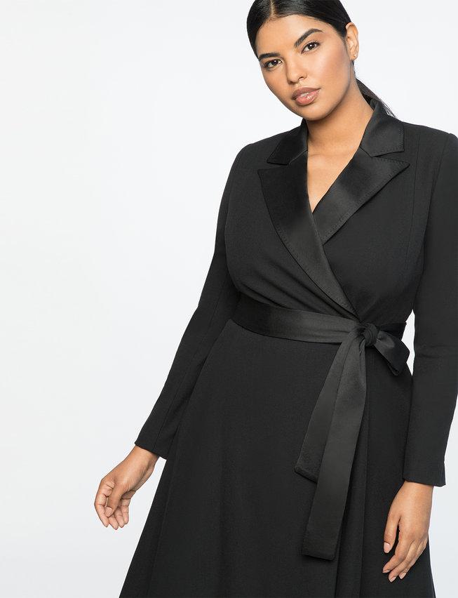 Jason Wu for Eloquii: Plus Size Belted Coat