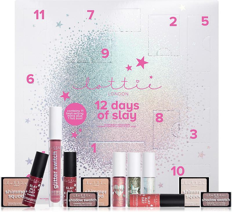 Lottie London 12 Days Of Slay Beauty Countdown Calendar