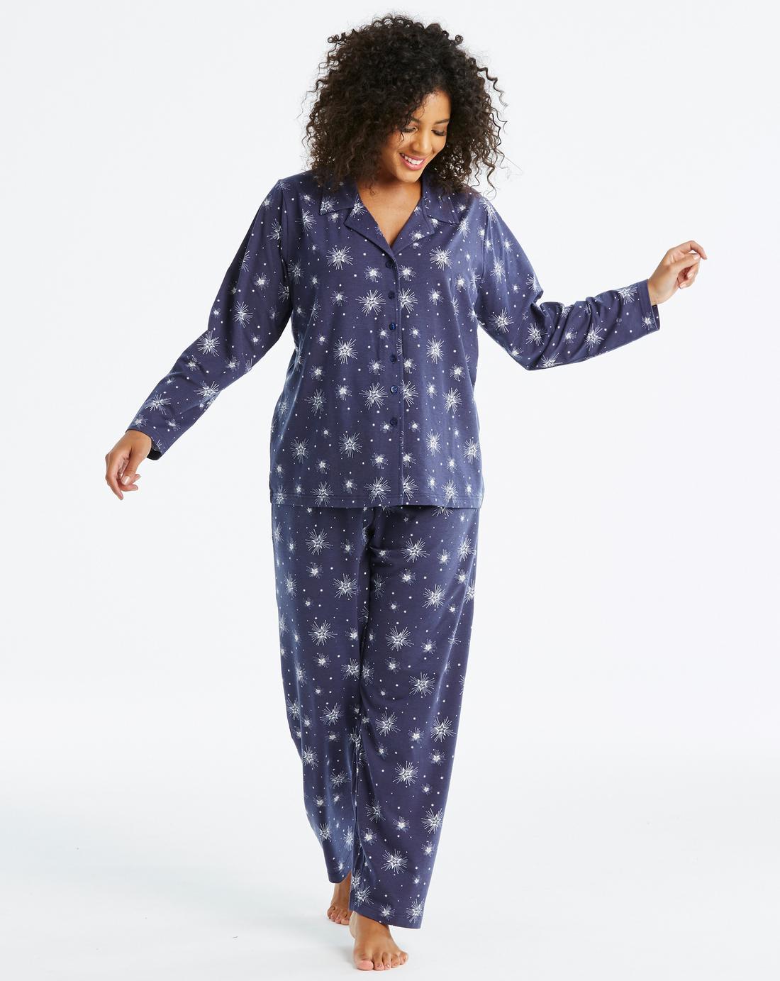 Pretty Secrets Button Through Pajama