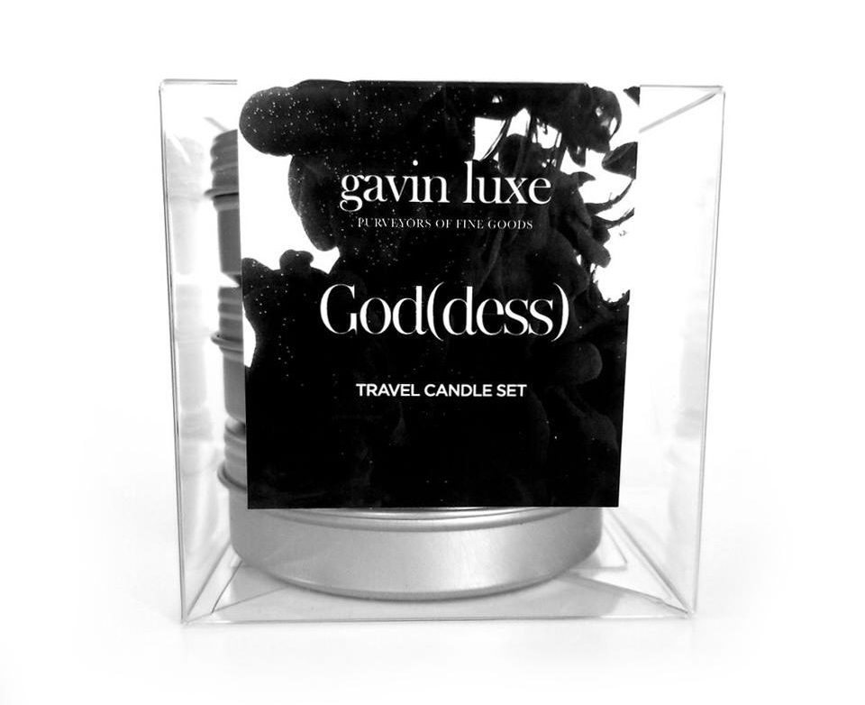 TCF Gift Guide: Gavin Luxe Travel Candle Set