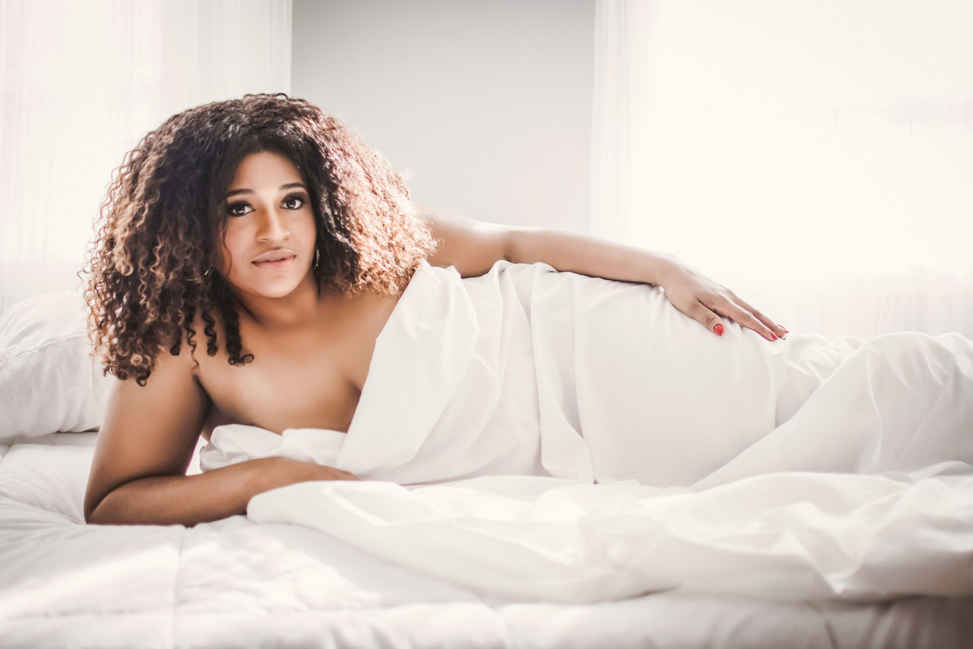 Plus Size Boudoir by Donna Lane Photography