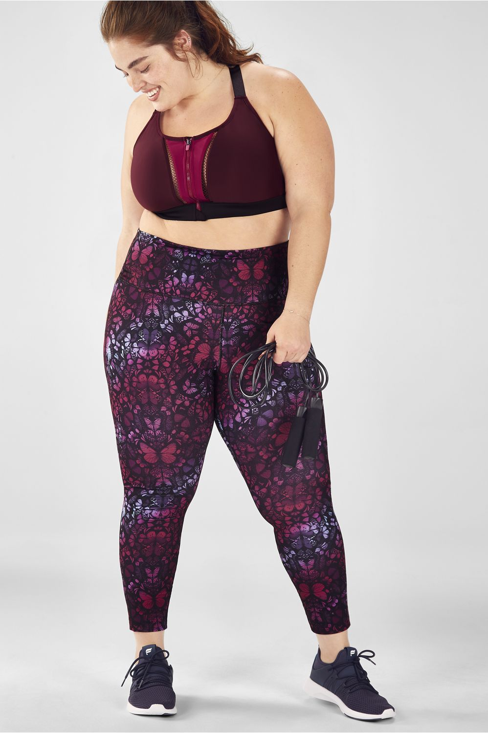 Fabletics Plus Size Cross Train 2-Piece Outfit