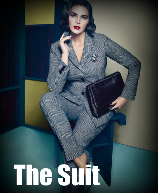Fall 2012 Trends for Plus Size Fashion: Suiting