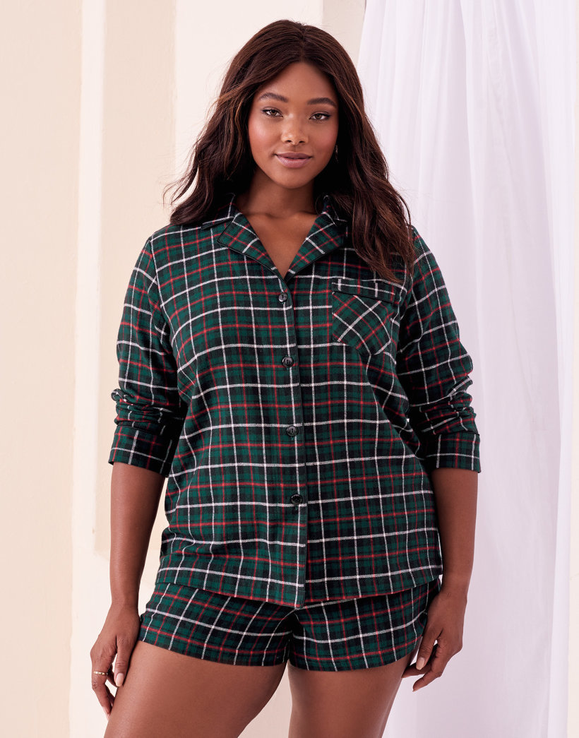 Pasha Plus Plus Size Pajama Set at Adore Me