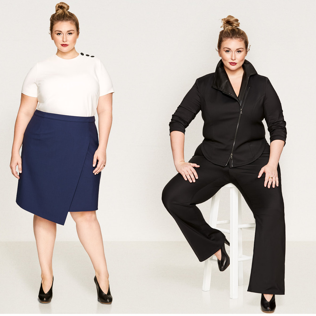 Luxury Plus Size Work Clothing- Pari Passu