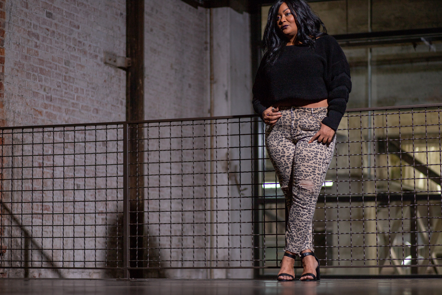 Plus Size Leopard Jeans at Fashion to Figure