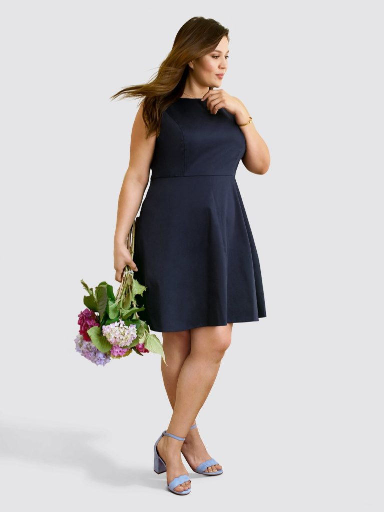 Draper James Launches Plus Sizes- Sleeveless Love Circle Dress