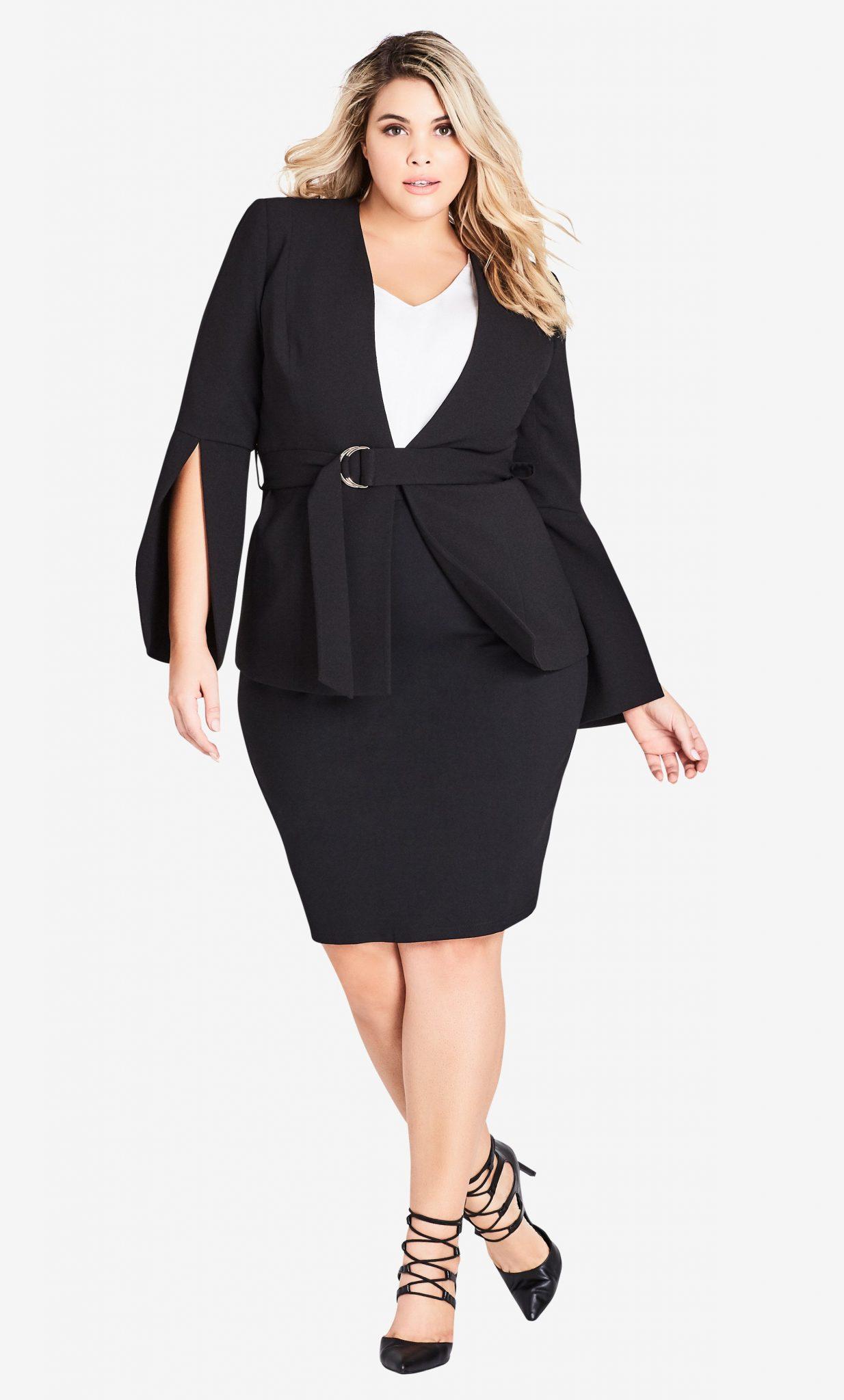Split Sleeve Jacket