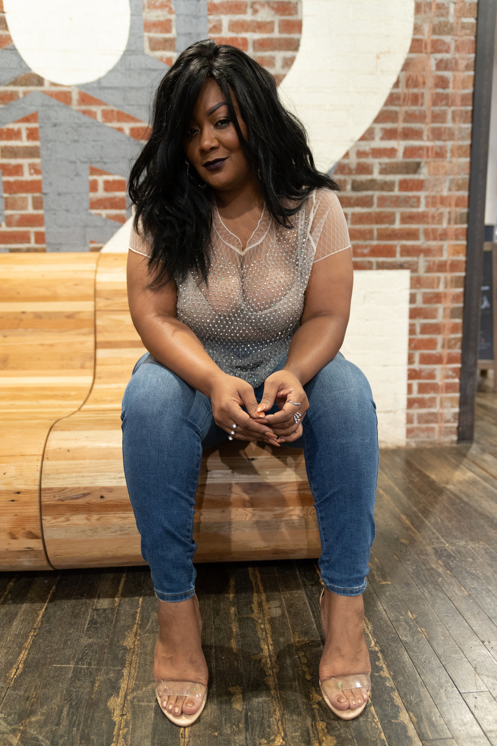 48e66686bcb Kick off Your Spring Plus Size Denim Style with Fashion to Figure