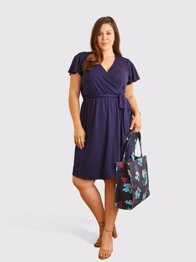 Draper James Launches Plus Sizes- Wrap Dress