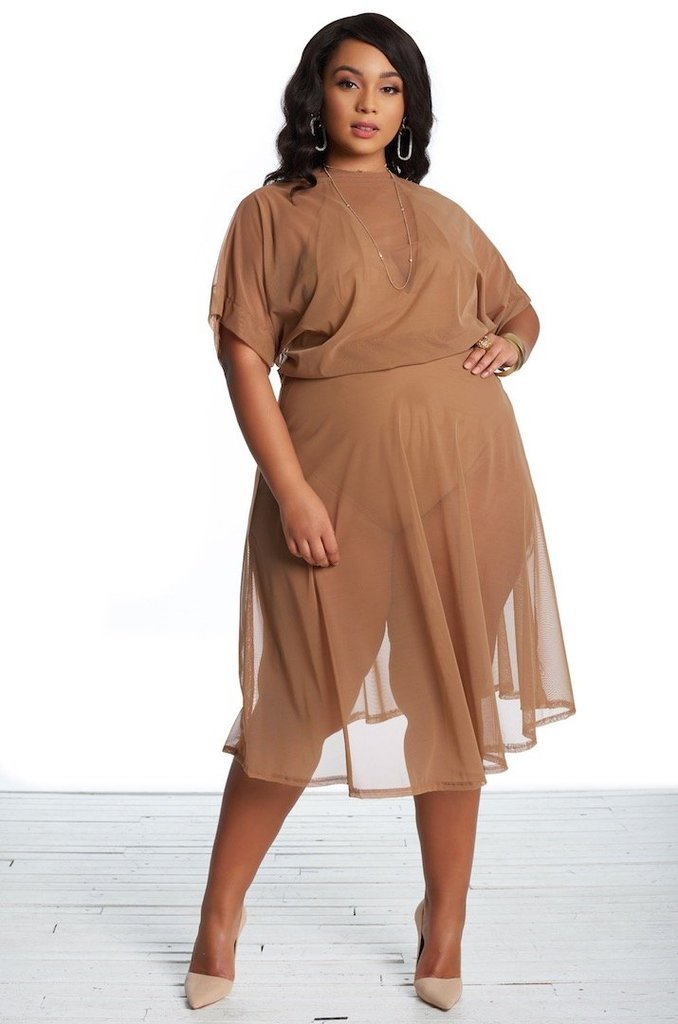 The Prettiest of Spring's Plus Size Dresses: Adrienne Dress