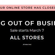 Charlotte Russe closes business
