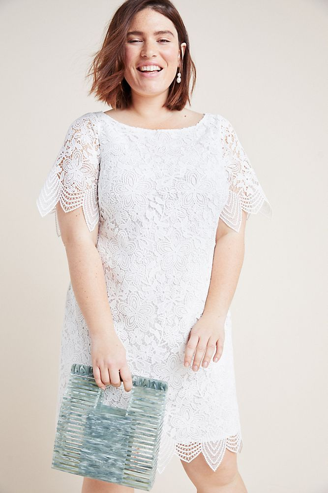 Charleston Lace Mini Dress by Anthropologie