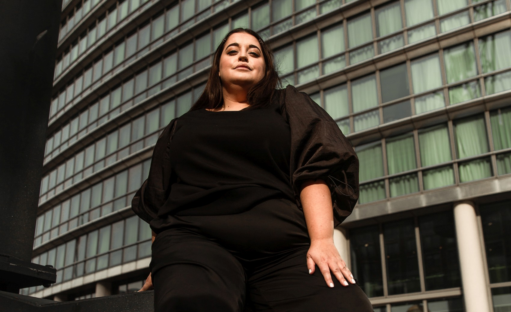 Danielle Vanier meets navabi- Plus Size Blogger Collaboration