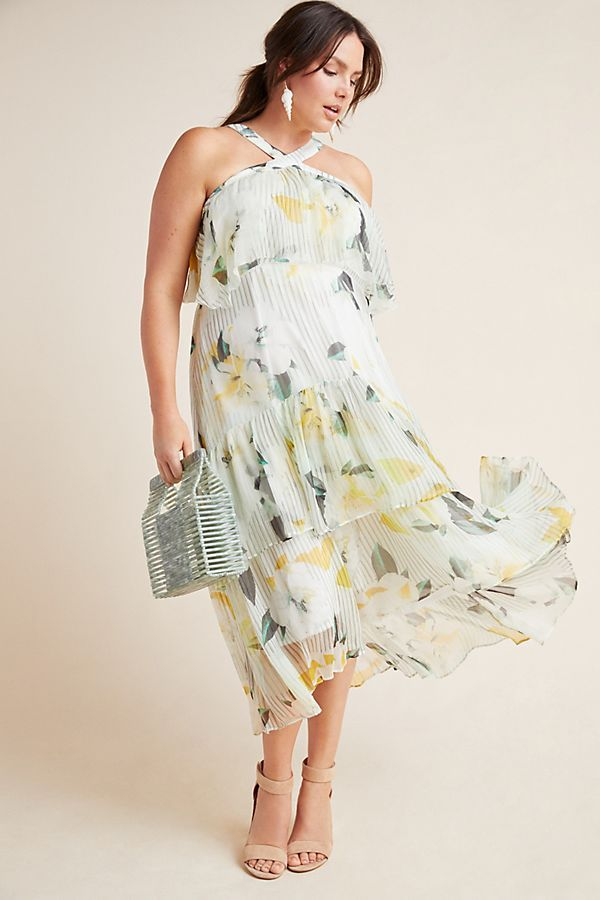 Garden Party Dress by Anthropologie Aplus