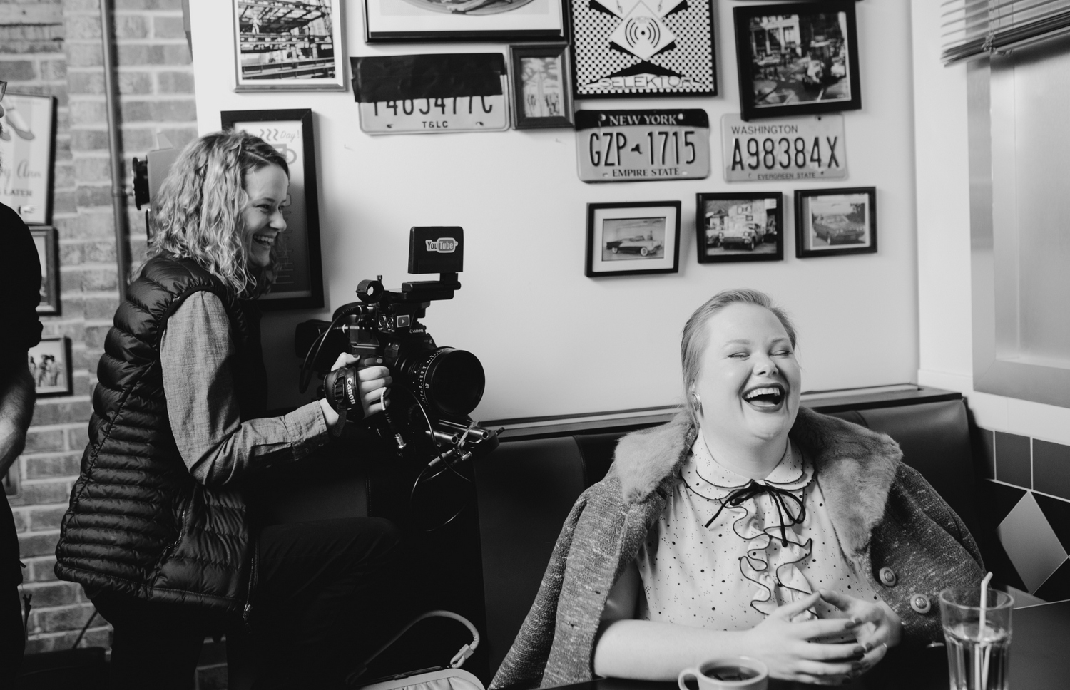 Behind the Scenes of Queens of Daytime starring plus size actress, Jen Ponton.