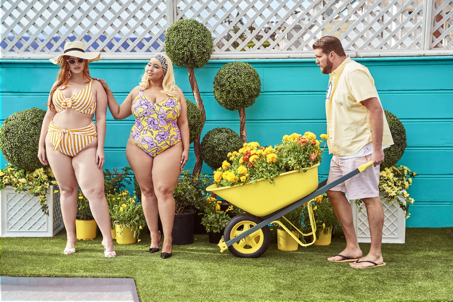 7250b9bcefefe Let's Go Swimming! Here's 25 Places to Shop for Plus Size Swimwear