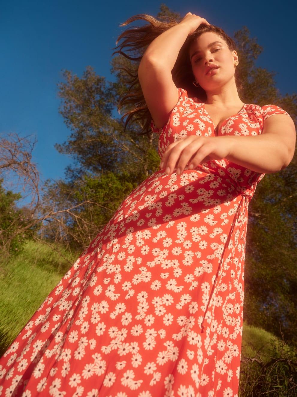 Reformation Plus Sizes- Carina Dress