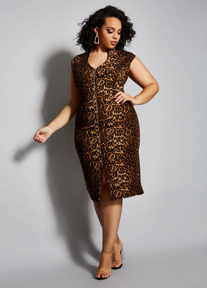 The Tara Dress at AshleyStewart- Spring plus size favorites from Curvy Girl Collection by Ashley Stewart