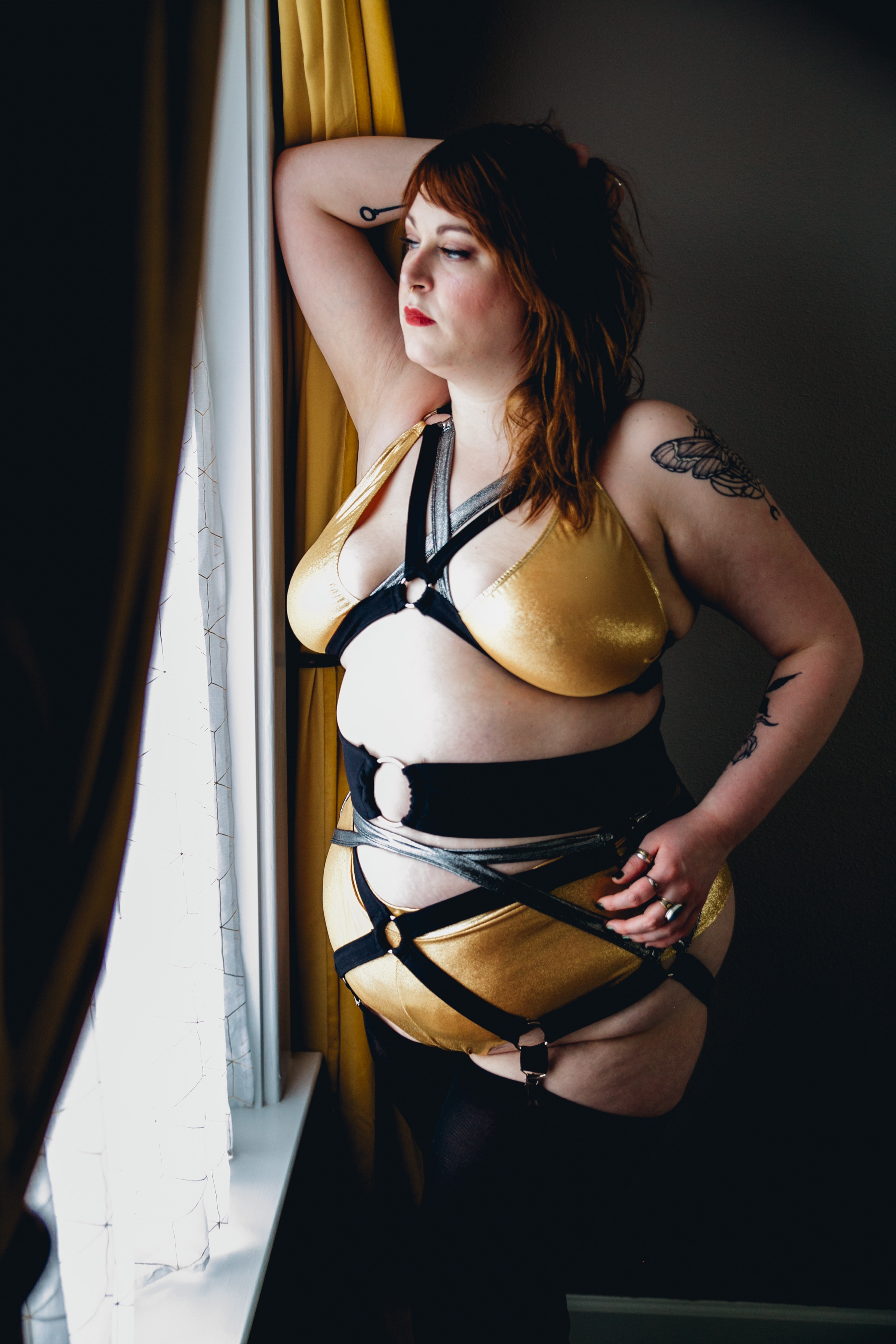 plus size lingerie: Bawdy Love, 2019 Starlets Collection