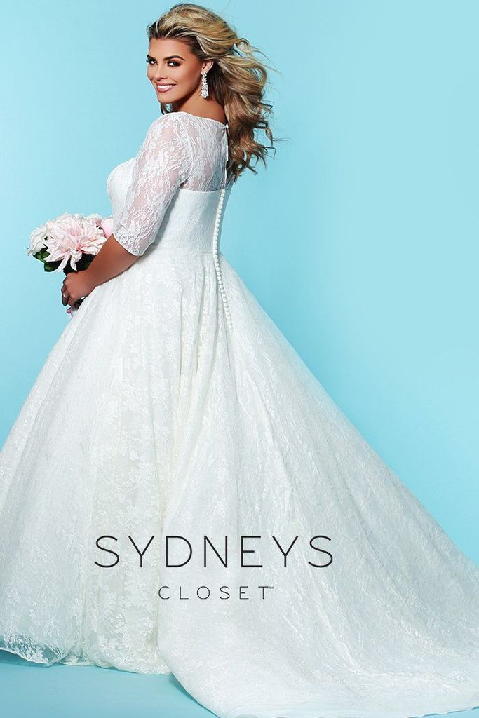 Affordable Plus Size Wedding Gowns- Charlotte Wedding Dress