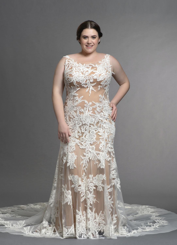 Judith Plus Size Wedding Dress at Azazie