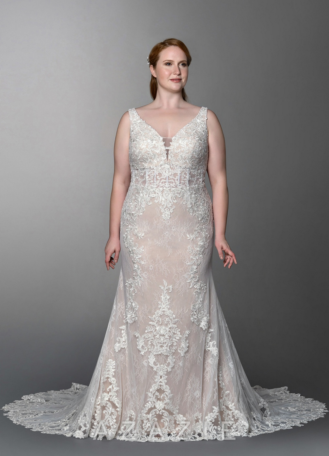 Plus Size Casual Wedding Gown