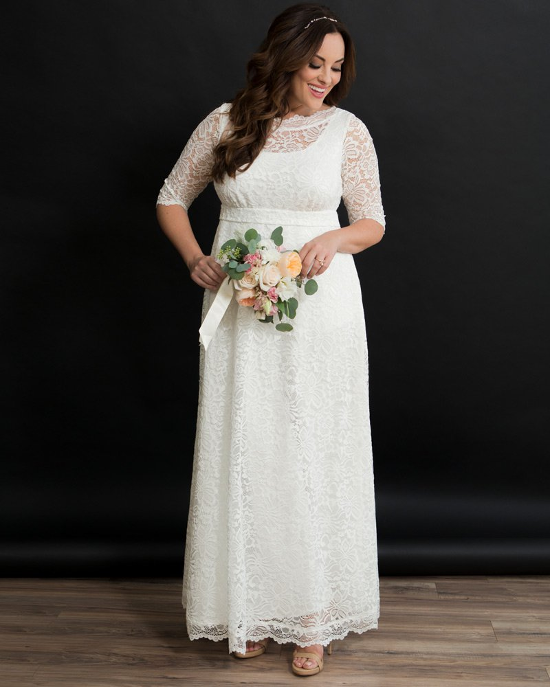 Affordable Plus Size Bridal Gowns- Sweet Serenity Wedding Gown