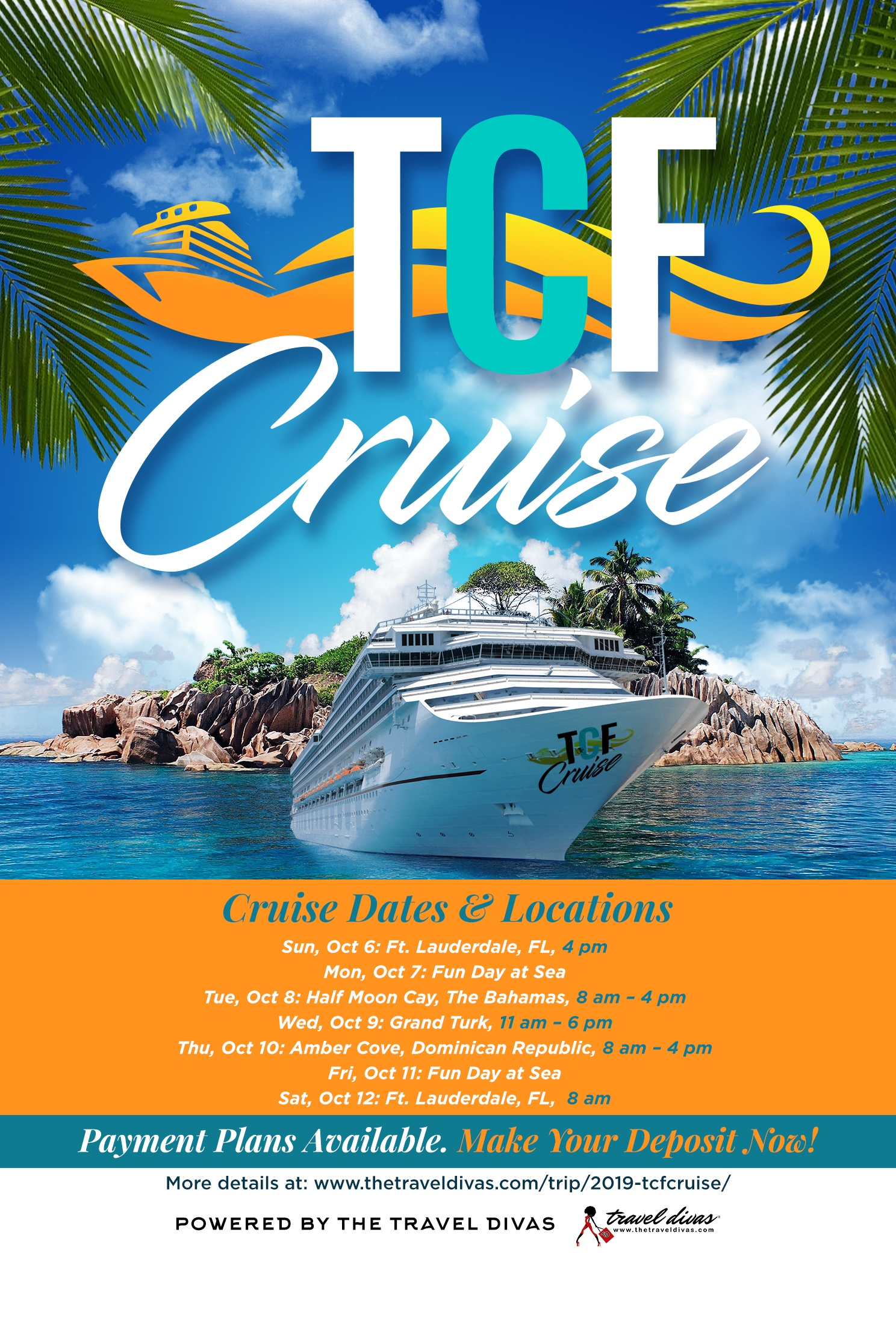 2019 TCFCruise with the Curvy Fashionista and the Travel Divas