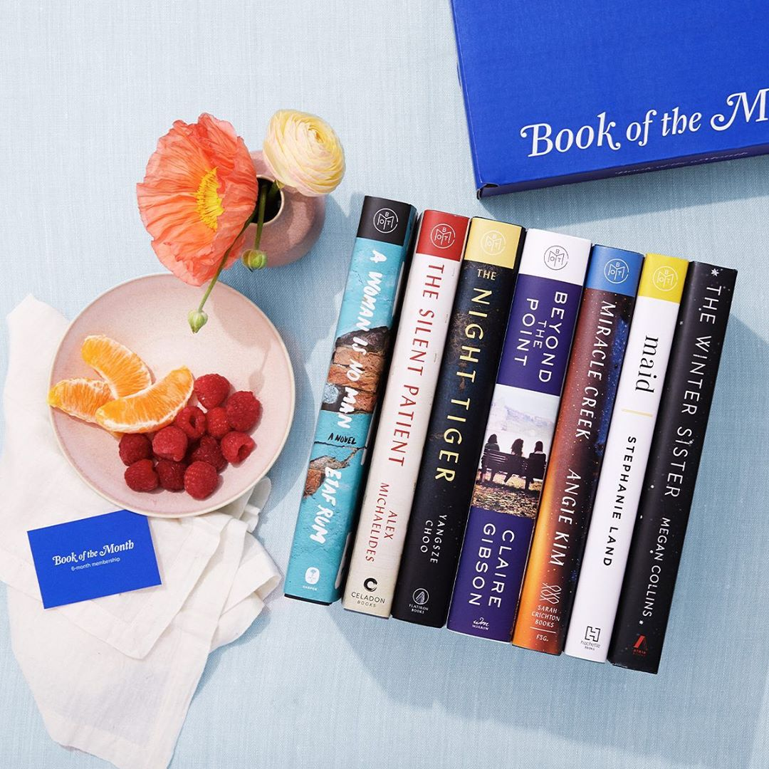 subscription box book of the month
