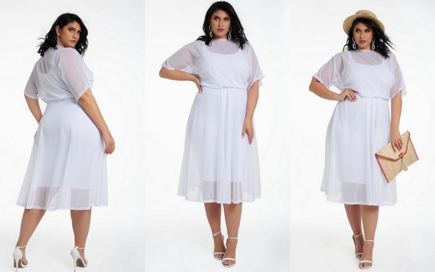 20 of Summer\'s Hottest Plus Size White Dresses You\'ll want to Rock Now!
